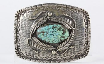 George Billie Native American Belt Buckle